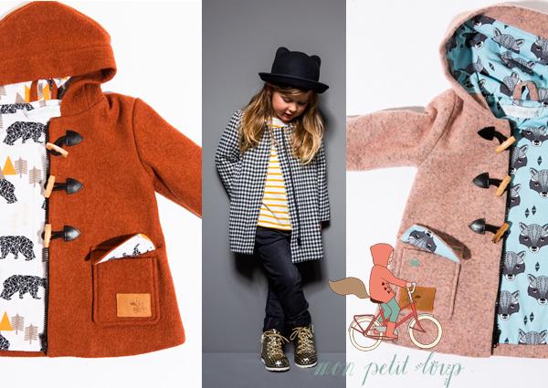 Mon Petit Loup voor hoogwaardige jassen voor meisjes