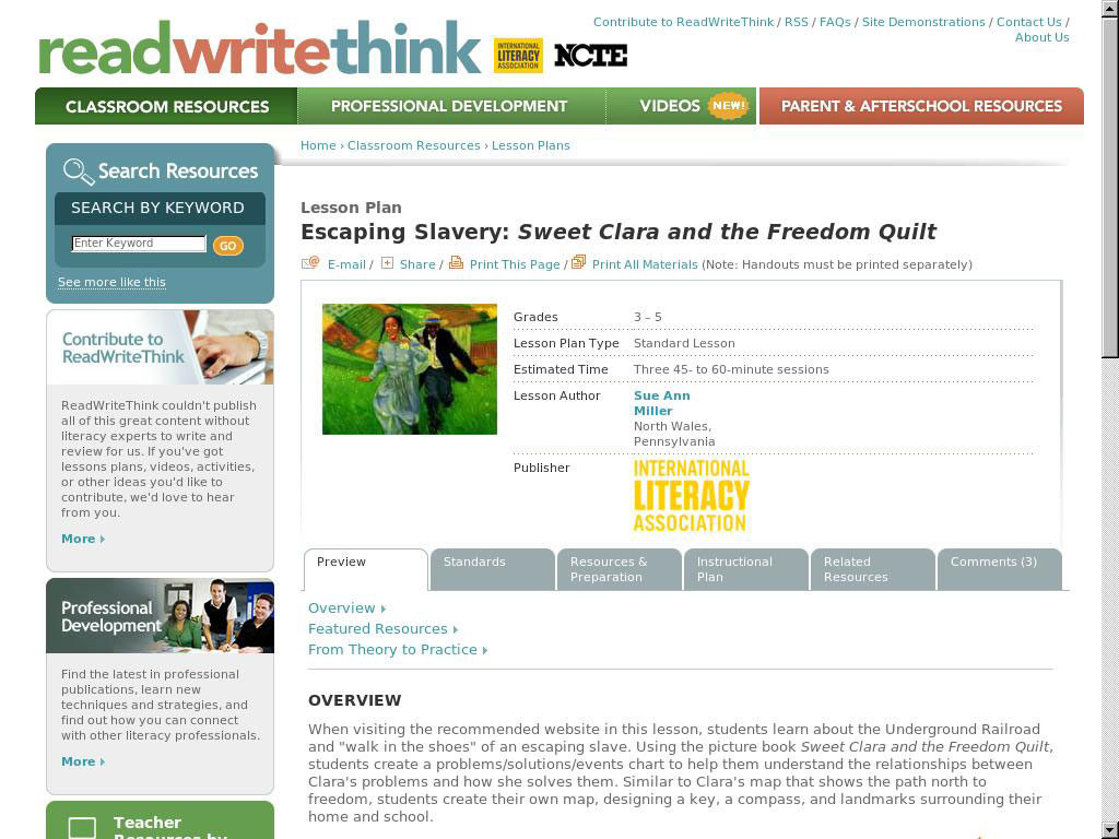 Escaping Slavery Sweet Clara And The Freedom Quilt