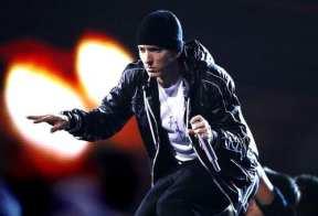 Eminem live in Europa