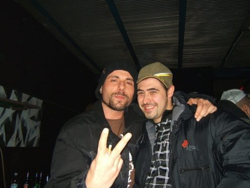 Primo Brown e Zethone nel 2007