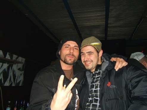 Primo Brown e Zethone nel 2007