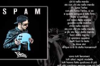 Il nuovo album di Parix, Spam
