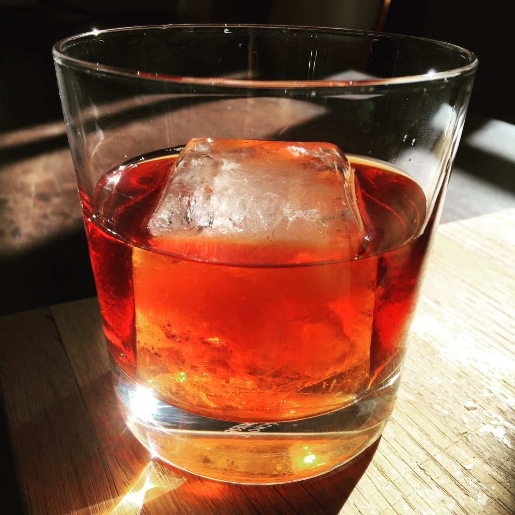 Szechuan Pepper Negroni - Another Modernist Cocktail from Hanoi's Mood Therapist, Rich McDonough
