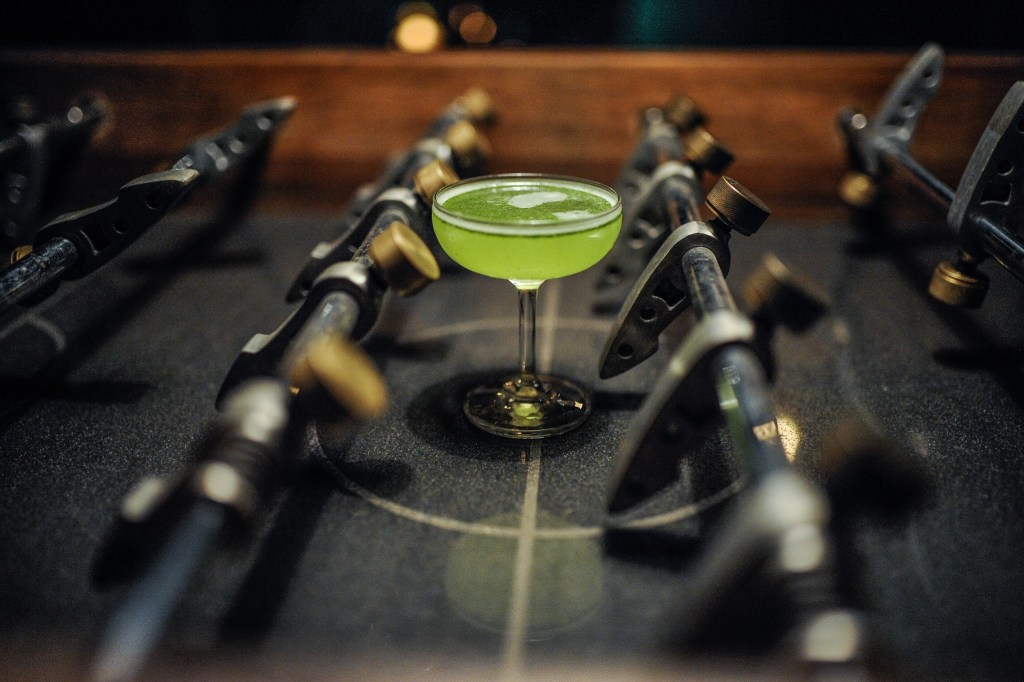 Vietnamese Basil Daiquiri by the Mood Therapist at Cama ATK for the first Group Therapy Session