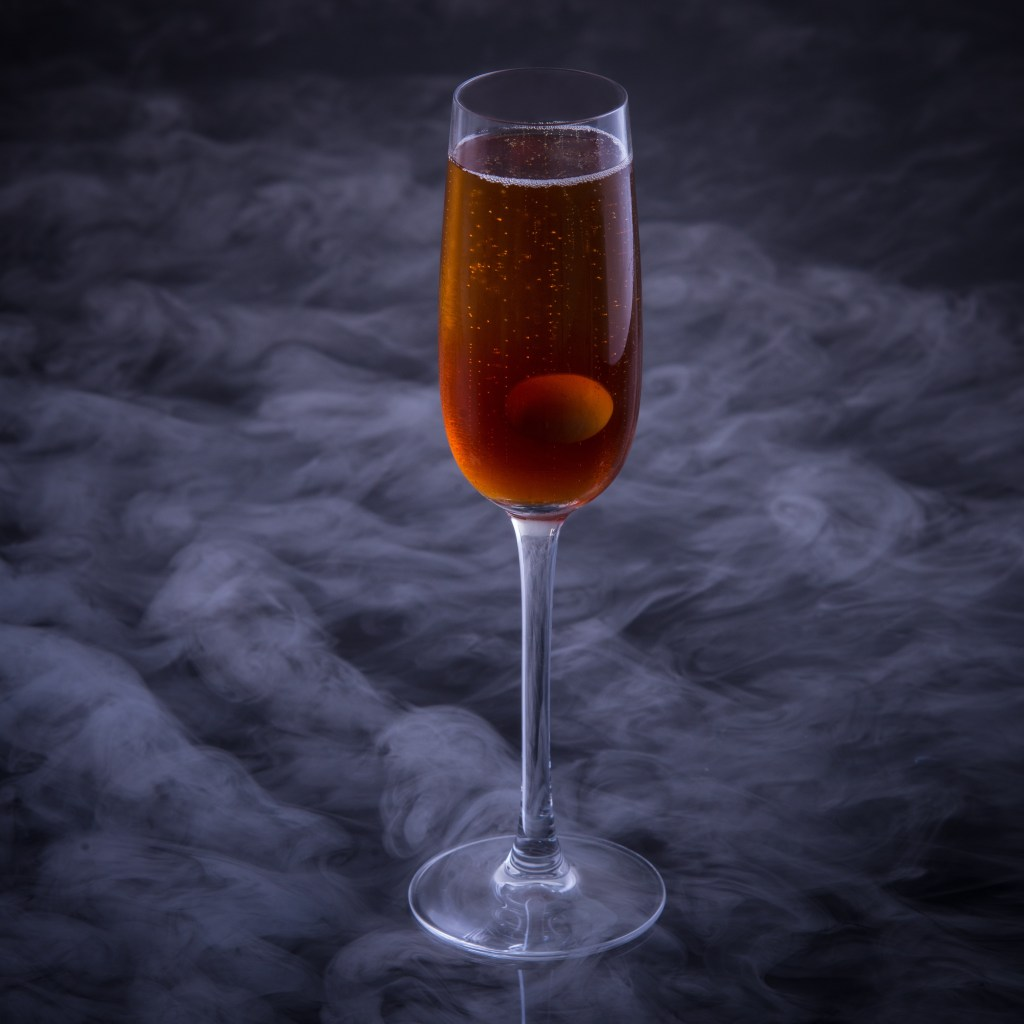 The Grand Bean to Bubble - Another Modernist cocktail by Hanoi's Mood Therapist, Rich McDonough