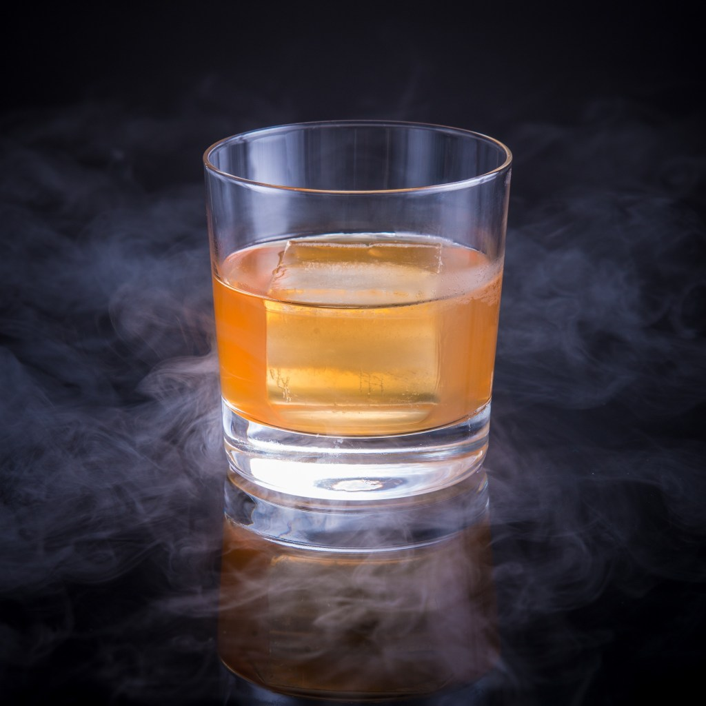 His Nibs' Grand Belvedere cocktail by the Mood Therapist