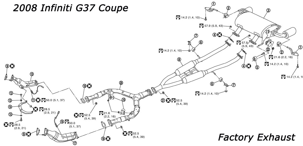 2004 subaru legacy exhaust diagram