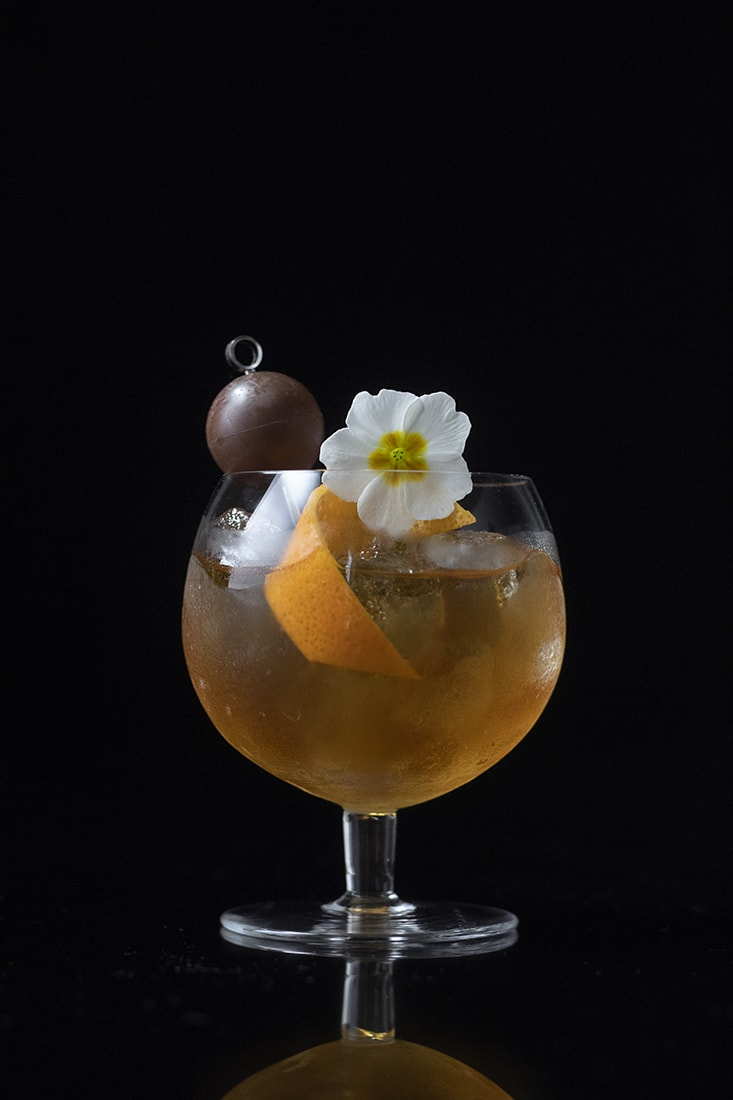 chocolate-and-cherry-cognac-old-fashioned-cocktail-for-valentines-days