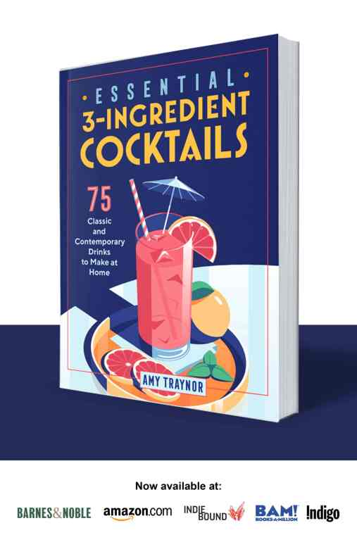 My new book Essential 3-Ingredient Cocktails is coming soon!