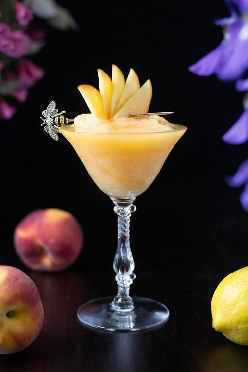 Midnight Sunshine – a Frozen Aquavit Cocktail
