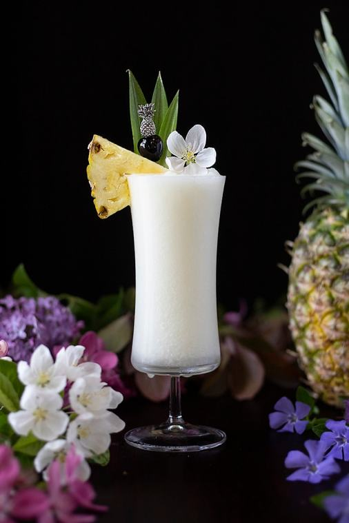 Classic Piña Coladas (Plus a Lower Calorie Recipe)