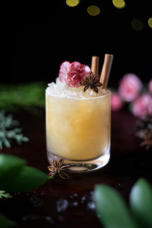 Mele Kalikimaka (Merry Christmas) Tiki Cocktail