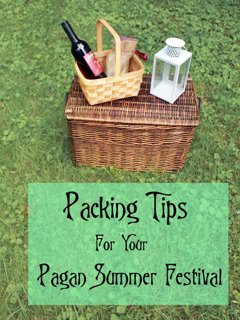 Packing Tips for Your Summer Pagan Festival