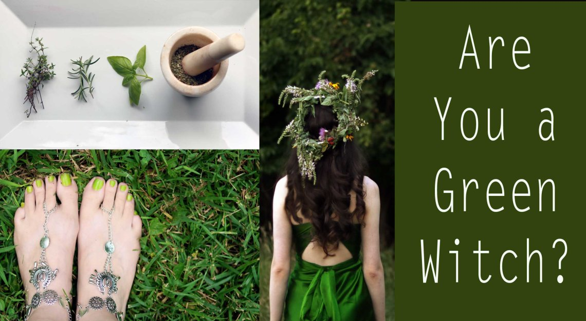 are you a green witch