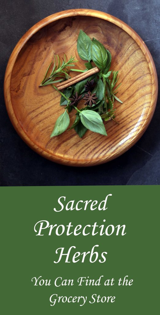 Herbs and spices used in protection magick that you probably have in your cupboard right now.