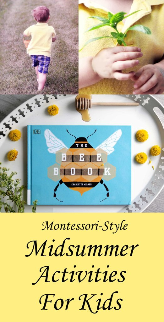 Montessori-style Midsummer activities for children to explore this Litha.