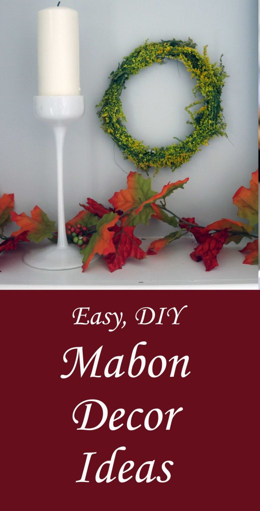 Easy, DIY Mabon decor ideas for your hearth and home.