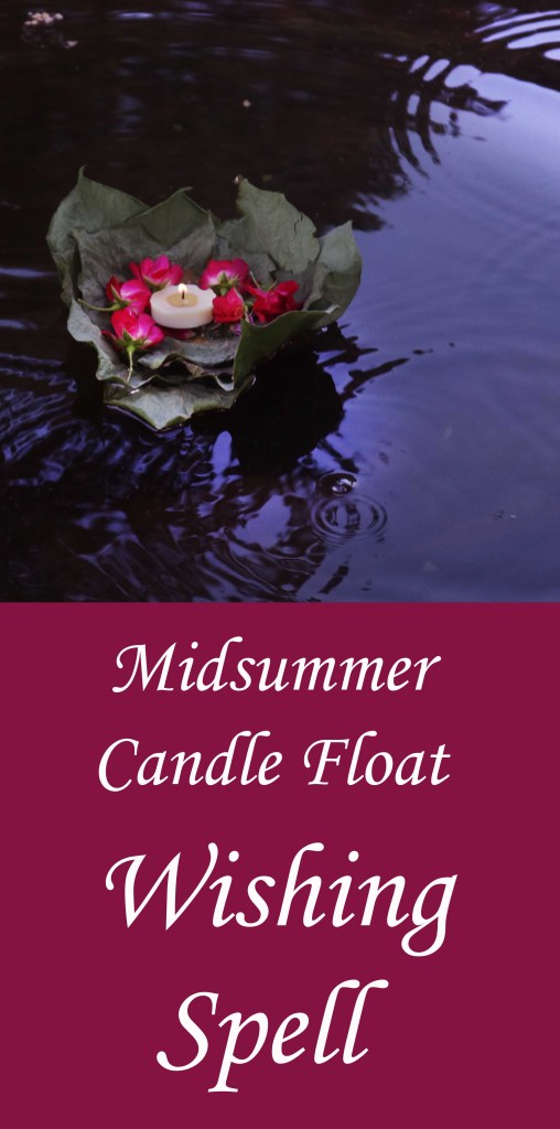 Got candle magic?  This nifty candle float wishing spell is a lovely way to celebrate Litha or the Summer Solstice.
