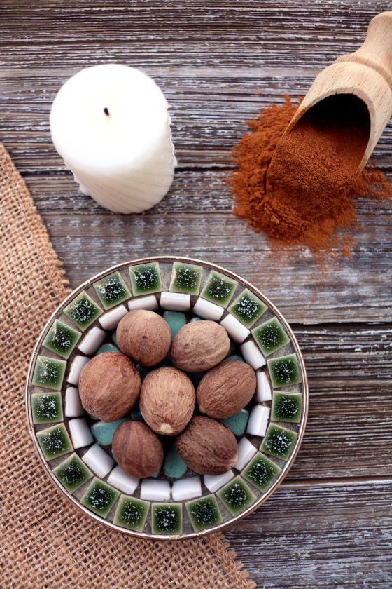 Magical, metaphysical and ritual uses of nutmeg in witchcraft.