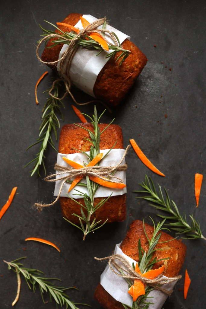 Winter Solstice Orange Ginger Spice Cake