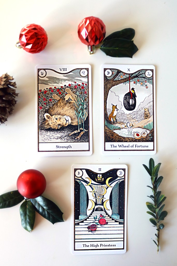 The Elemental Power Tarot by Melinda Lee Holm