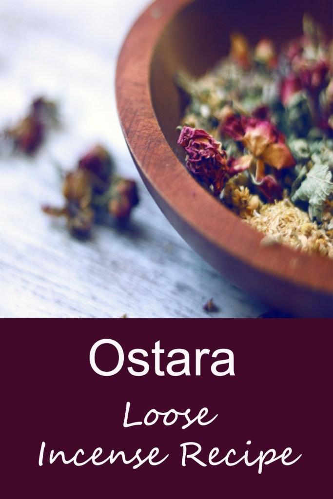 Ostara DIY Loose Incense Recipe for the Spring Equinox