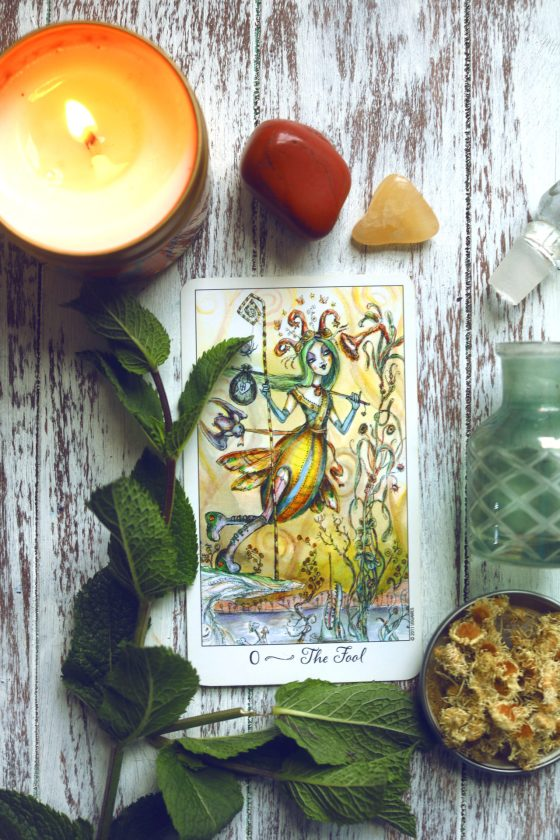Learn all about the Fool Card in the tarot.