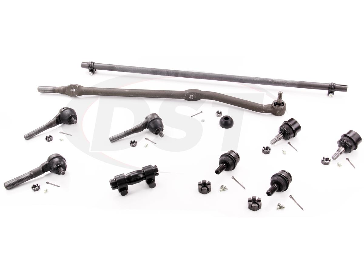jeep front end parts diagram jake brake wiring 3406b steering rebuild kit cherokee 91 01