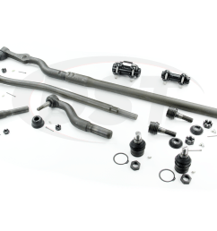 moog packagedeal121 front end steering rebuild kit ford f450 1999 2002 [ 1200 x 900 Pixel ]