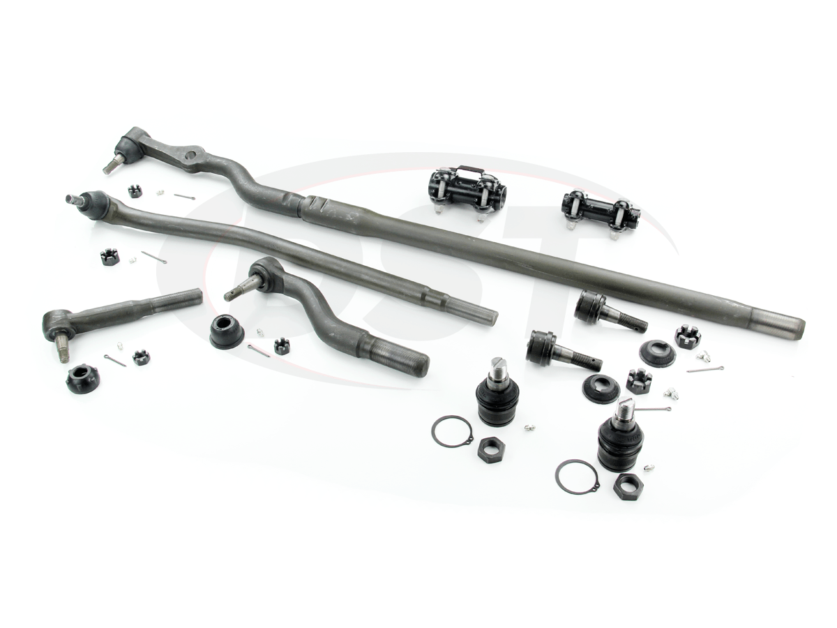 hight resolution of moog packagedeal121 front end steering rebuild kit ford f450 1999 2002