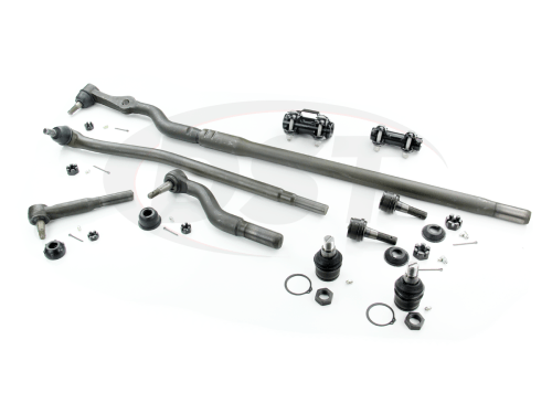 small resolution of moog packagedeal121 front end steering rebuild kit ford f450 1999 2002