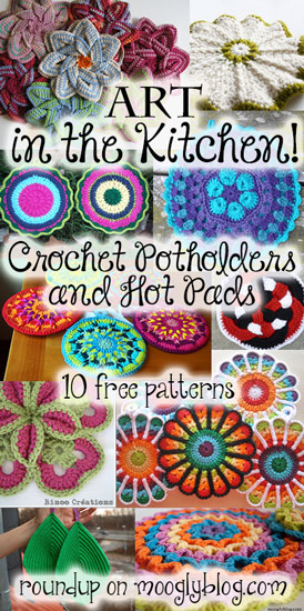 kitchen hot pads aid washer art in the crochet potholders and make a work of for your pretty practical they great