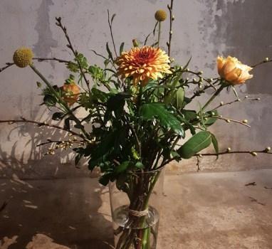 UitverkochtWorkshop bloemschik Basics