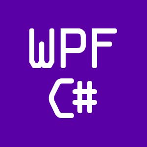WPF c sharp tutorial icon