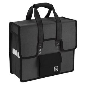 Willex shopper grijs-zwart
