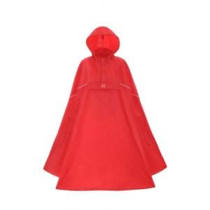 Lichtgewicht poncho rood