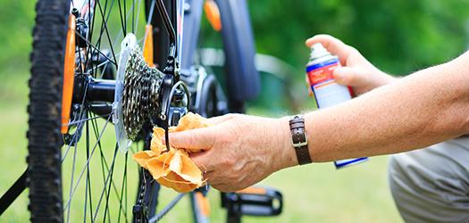 Smeerolie en vetten voor je fiets