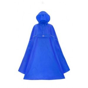 Lichtgewicht poncho blauw