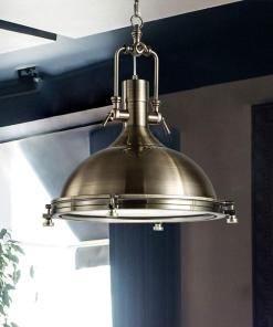 Industrial Country Metall Pendelleuchte