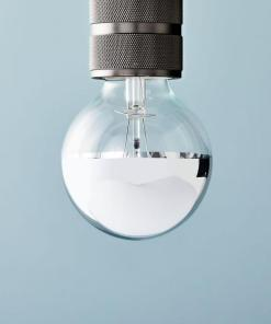 LED Bulb - Silver-Tipped