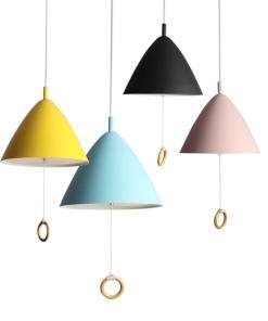 Подвесные светильники Cone серии Macaron