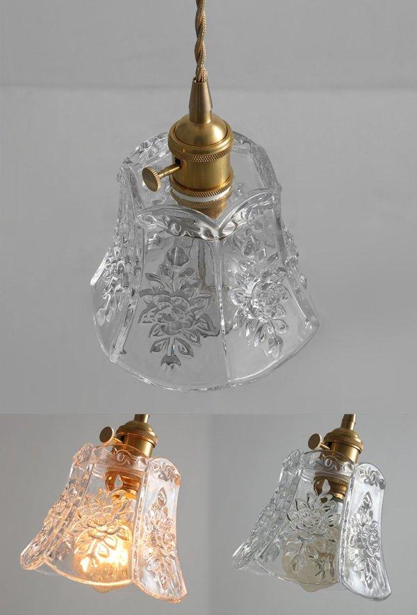 Hänglampor i klart glas