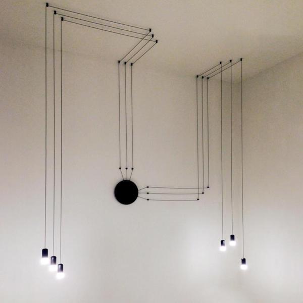 Wireflow free form pendant