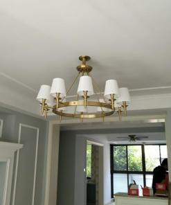 Antique Brass Chandelier
