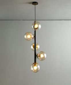 Lineair glazen hanglamp