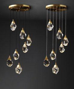 Crystal Suspended lights
