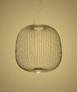 Spokes suspension lamp