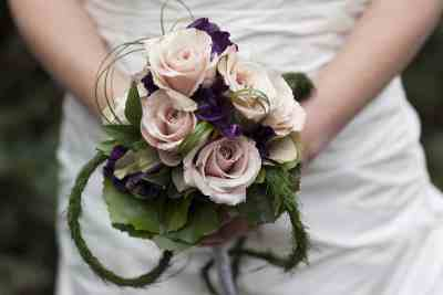 bruidsboeket trouwdag bruid trouwreportage
