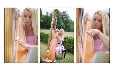 Harpiste op je bruiloft