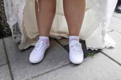 gemakkelijk lopen trouwschoenen bruid trouwdag bruiloftsfeest feestavond
